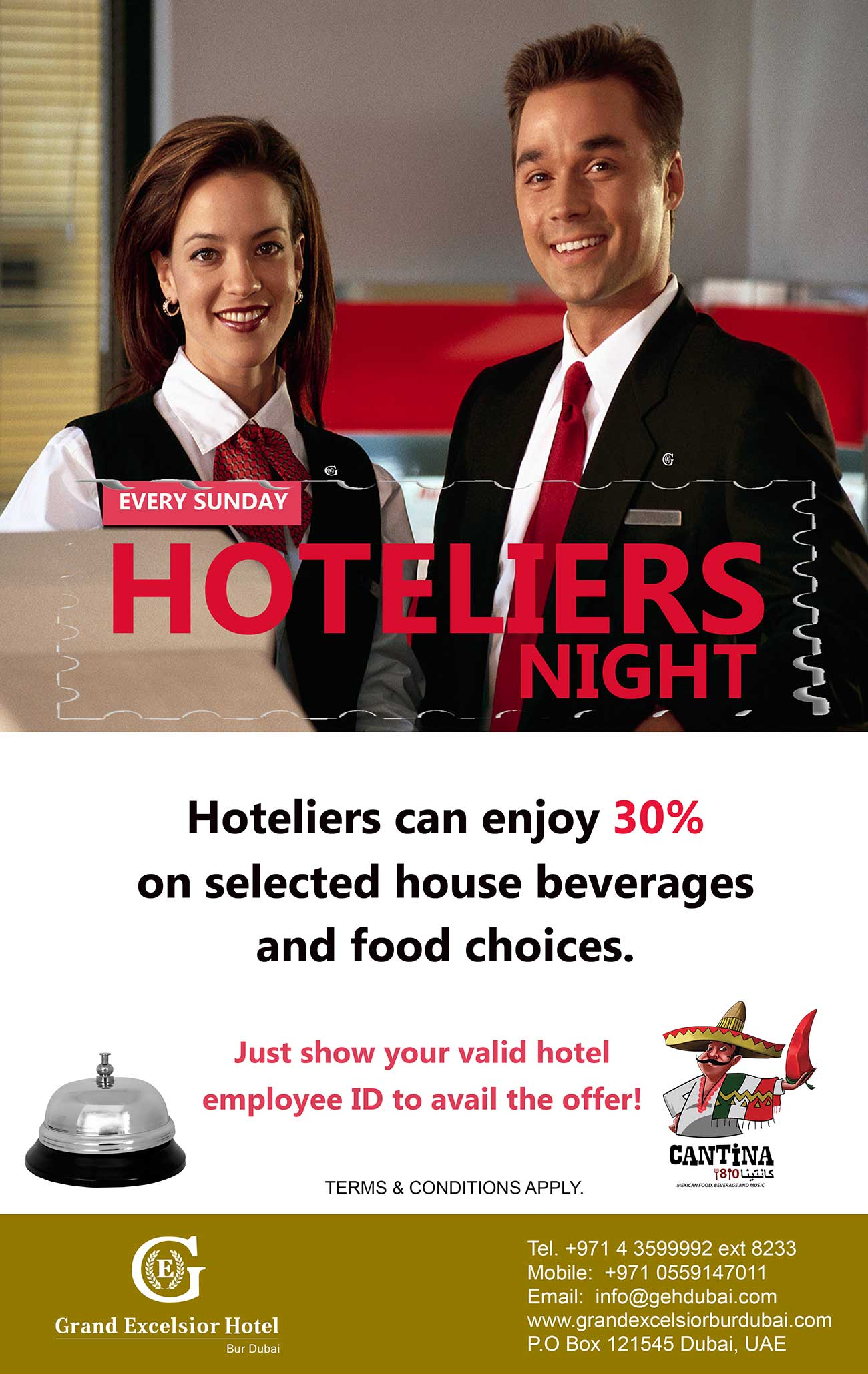 Sunday Hoteliers Night