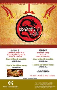 Dragon's Fi Chinese Restaurant Offers